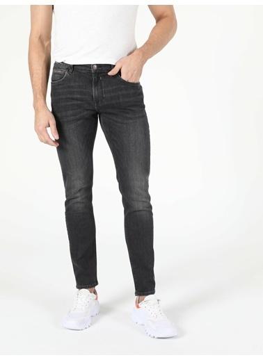 Colin's 041 Danny Düşük Bel Dar Paça Slim Fit Koyu Mavi Erkek Jean Pantolon İndigo